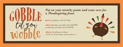 evite com free online thanksgiving dinner invitations