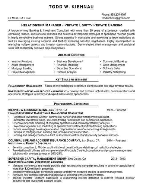 cool investor relations resume templates contemporary