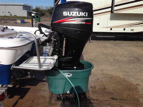 mercury outboard motor flushing attachment suzuki flushing the hull truth boating and fishing forum