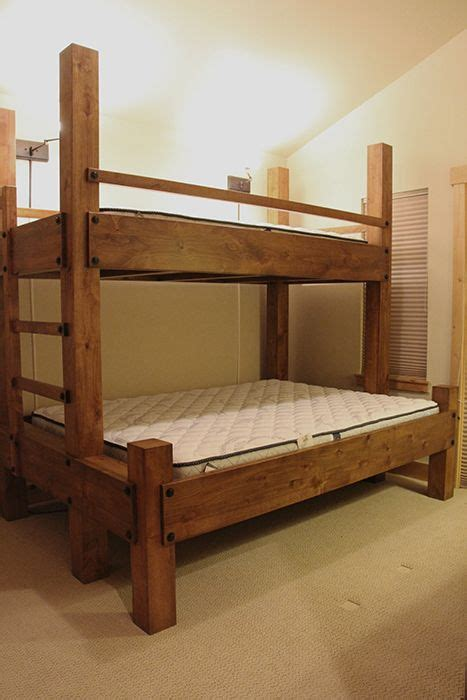 queen bunk beds best 25 queen bunk beds ideas on pinterest bunk rooms built in bunkbeds and bunk