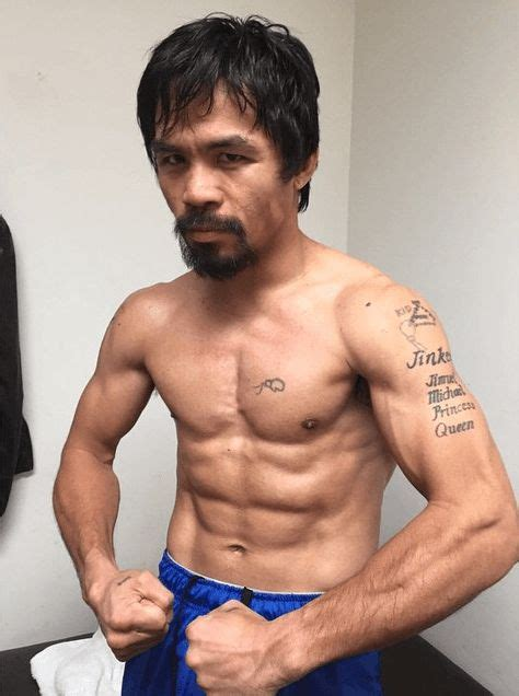 pacquiao tattoo best known as a professional boxer pacquiao is also a