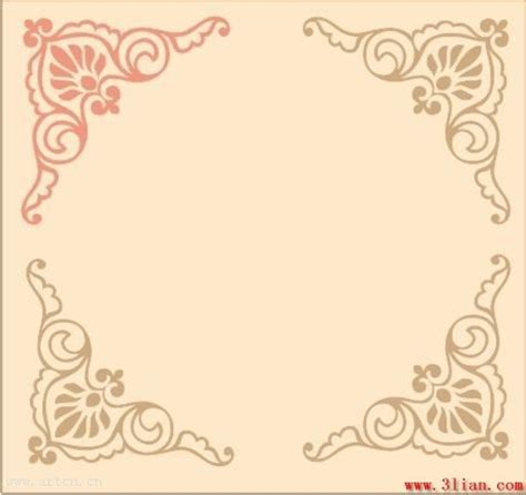 pattern in cdr europeanstyle lace pattern vector free vector in coreldraw