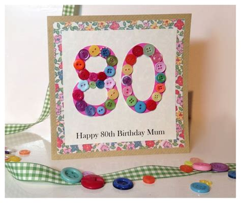 Handmade 80th Birthday Card Ideas - 17 best images about cards birthday on