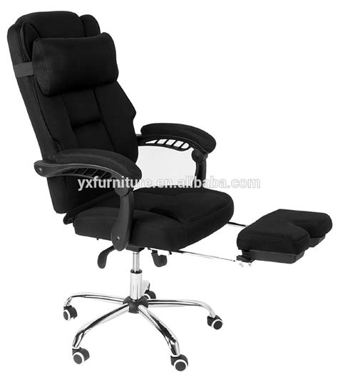 reclining office chair with footrest high back executive chairs with footrest and back support