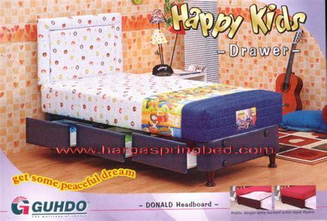 Guhdo New Prima 200x200 Tanpa Divan Sandaran Coklat Tua guhdo bed toko furniture simpati