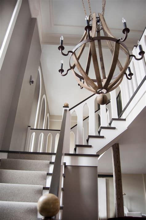 Staircase Chandelier 22 Wood Chandeliers Designs Decorating Ideas Design
