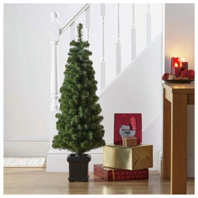no assembly required christmas tree buy tesco 4ft topiary tree from our trees range tesco