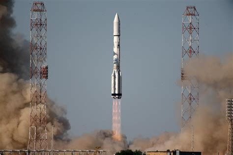 Proton Rocket Launch by Proton Back In With Successful Launch For Inmarsat