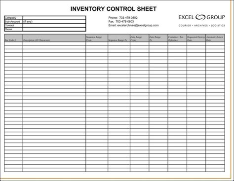Tool Inventory Spreadsheet by Tool Inventory Gse Bookbinder Co