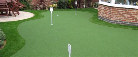 build  indoor  outdoor golf putting green
