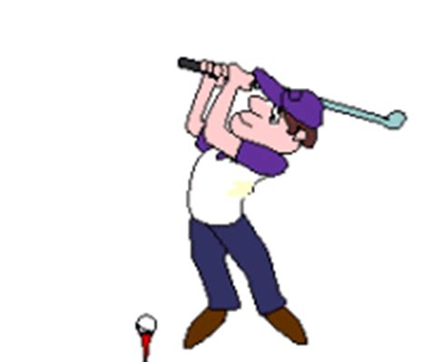 animated golf swing animated golf pictures clipart best