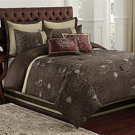 blair eggplant comforter set bed bath beyond
