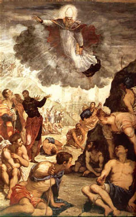 santo protettore di pavia iconografia agostiniana protegge dalla peste