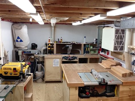basement woodworking shop marcel s basement shop the wood whisperer
