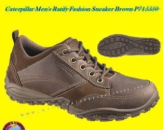 Sepatu Casual Pria Caterpillar Mid Safety Brown 301 moved permanently