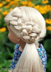 This flower braid side ponytail is just plain awesome from american