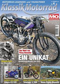 Motorrad Classic 4 2015 klassik motorrad 4 2015 motorrad magazin mo