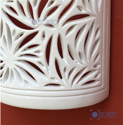 applique illuminazione illuminazione a parete applique in terracotta ceramica