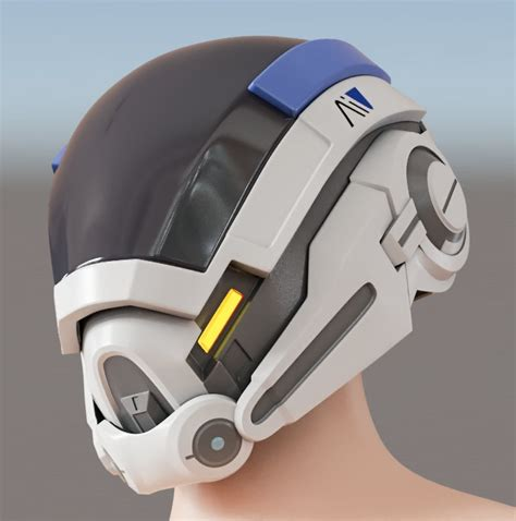 Kuyou Helm Helmet Anak Eps Foam mass effect andromeda v 1 helmet diy pepakura from maxcrft on etsy studio