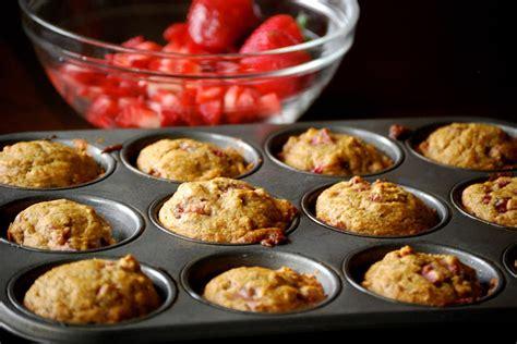 fruty u applesauce november grey healthy strawberry banana muffins