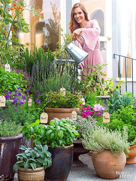 outdoor herb garden ideas best 25 container garden ideas on