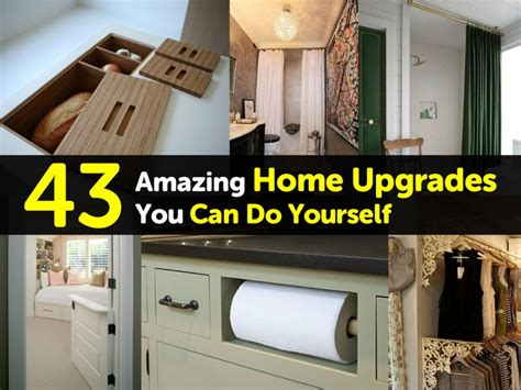 house upgrades 43 amazing home upgrades you can do yourself