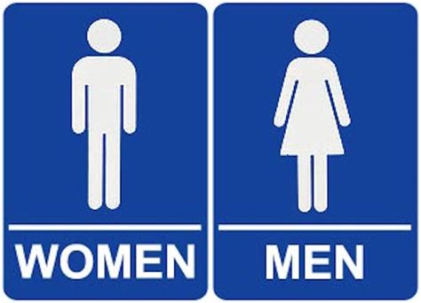 male female bathroom symbols bill de blasio signs order allowing transgender access to
