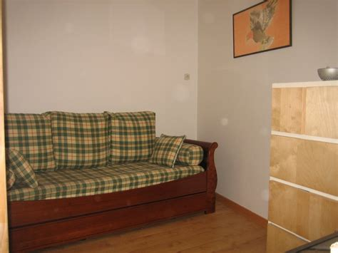 Second Futon by Et Ta Soeur Vacation Rental Michel Children
