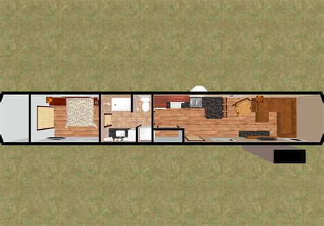 Container Home Floor Plan by Picking The Right Size Shipping Container For Your Tiny