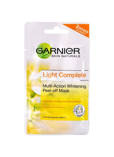 Masker Garnier Light Complete jual garnier light complete peel mask