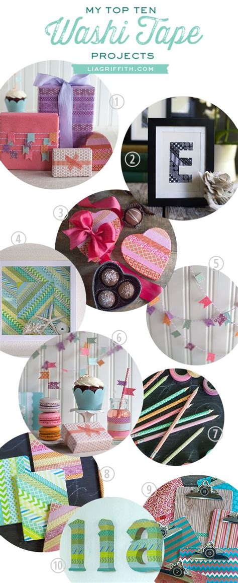 washi tape craft ideas my top 10 washi tape projects crafts pinterest