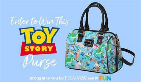 Toy Story Giveaways - exclusive loungefly toy story purse giveaway review courtesy of fun com updated