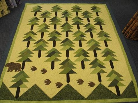 The Quilted Forest by Trees Shops And Quilt On