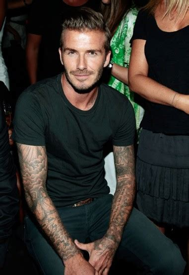 tattoo dave nyc new york fashion week spring summer 2013 celebrities at