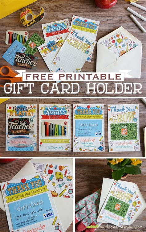 Printable Gift Card Holder - 411 best images about teacher gifts fun puns on pinterest