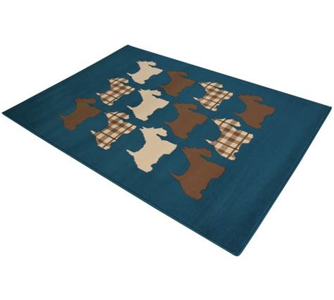 scottie rug buy scottie rug 160x230cm teal at argos co uk your shop for rugs and mats home
