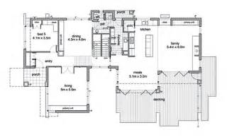 Modern 5 beds 2 5 baths 3882 sq ft plan 496 1 main floor plan