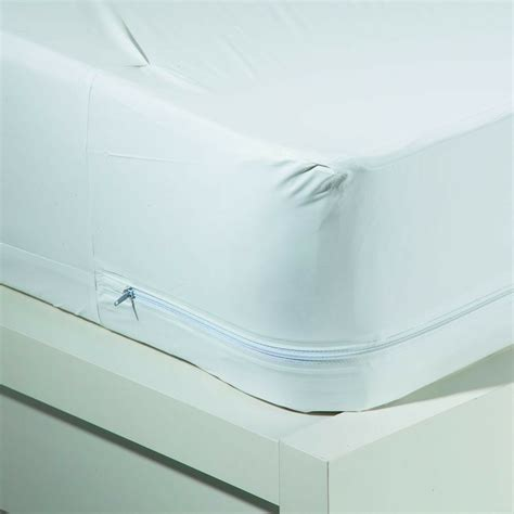 bed bugallergy relief waterproof zippered vinyl mattress coverprotector  size ebay