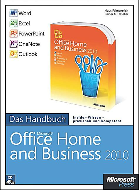 microsoft office home and business 2010 das handbuch