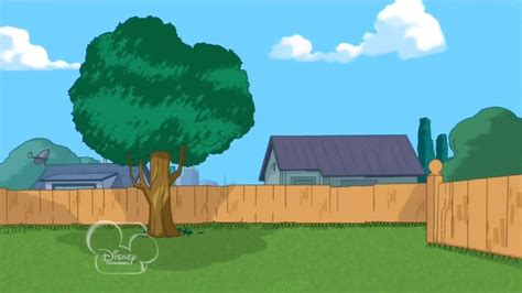 Phineas And Ferb Backyard Episode by Image Wcim Empty Backyard Jpg Phineas And Ferb Wiki Your Guide To Phineas And Ferb
