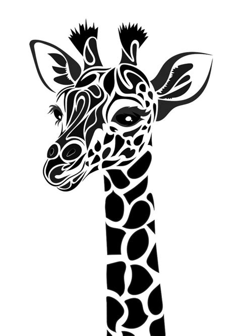 new school giraffe tattoo tribal giraffe by dessins fantastiques on deviantart