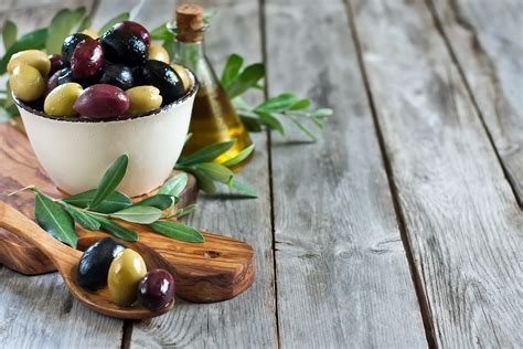 olive tree wallpaper wooden olive bowl spoon olives leaves wallpapers