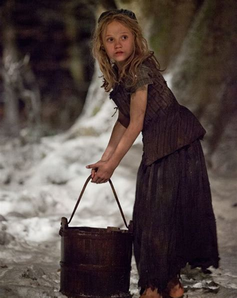 Les Mkserables 2 Cosette cosette costume les miserables les miserables costumes buckets and on