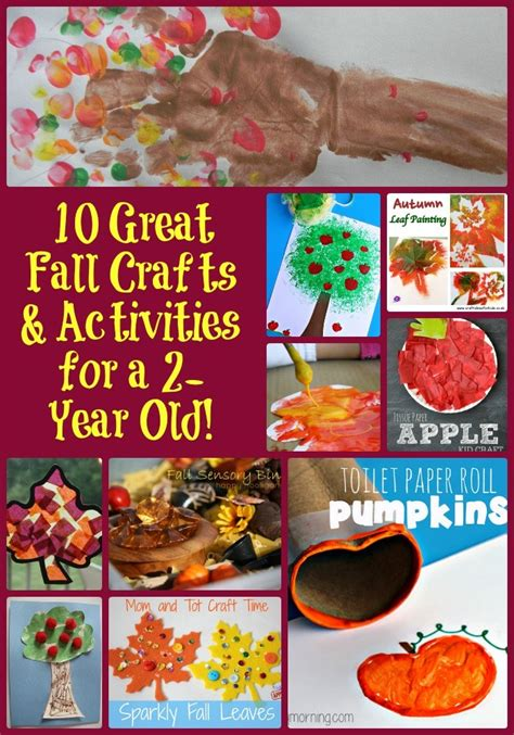 craft projects for 2 year olds 10 great fall crafts activities for a 2 year