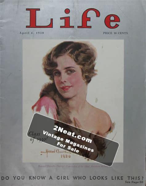 magazine biography exle for sale life magazine april 4 1930 2474 howard