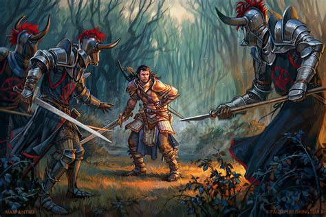 The Canaan Creed pathfinder paizo rpg iconic characters by ljekc on