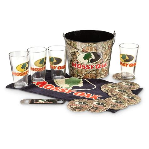 Barware Gifts Mossy Oak Pint Glass Gift Set With 654167