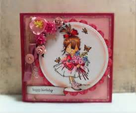 Handmade Card Design Ideas - happy birthday with of the valley v s sweet ideas