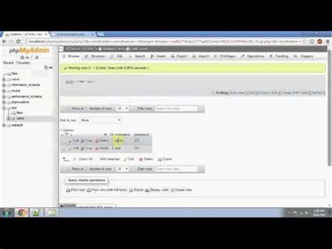 tutorial php register php mysql registration tutorial tagalog version part 2