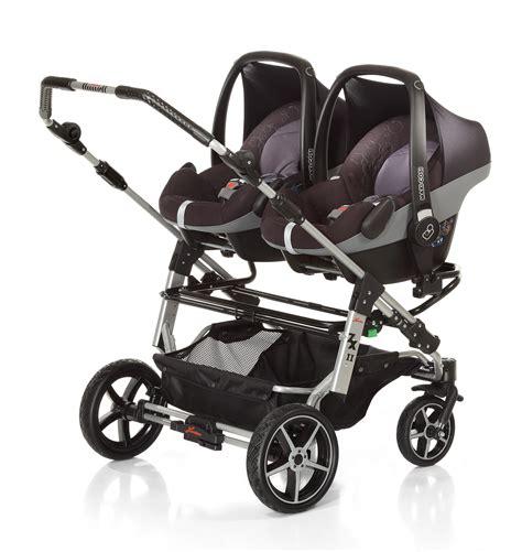 Kinderwagen Zwillinge 2017 hartan adapter zu zwillingskinderwagen zxii f 252 r maxi cosi
